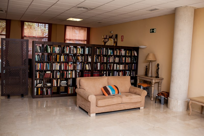 Residencia_Orpea_Benalmádena_Biblioteca