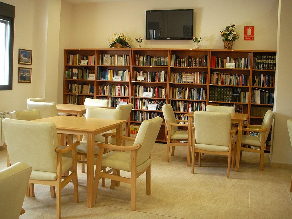 Residencia_Orpea_Santander_Biblioteca